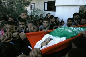 The funeral of martyr Mahmoud Jarghoun
