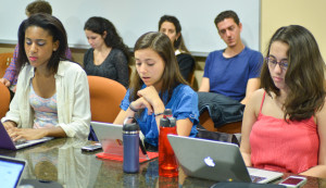 After a re-vote at the ASSU meeting on Tuesday, the divestment resolution passes. (ARNAV MARWALA/The Stanford Daily)
